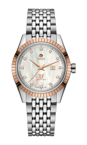 RADO Golden Horse Automatic Diamonds Mother of Pearl Women's Watch R33102903