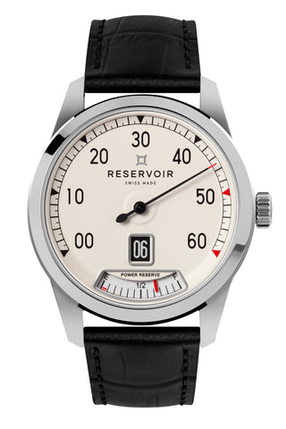 Reservoir Watch Supercharged Classic Jumping Hour Men's Watch RSV01.SC/130-21