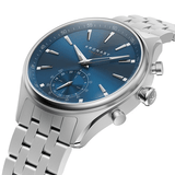 Kronaby Sekel 41mm Smartwatch Blue Dial Stainless Steel Men's Watch S3119/1