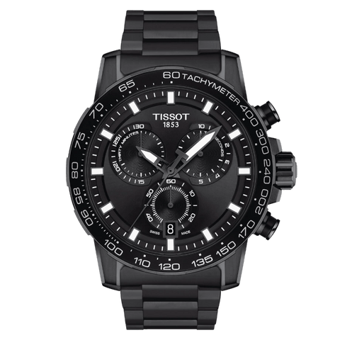 Tissot Supersport Chrono Black PVD Stainless Steel Men's Watch T1256173305100