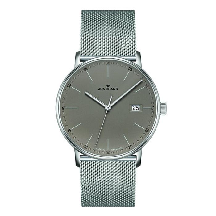 Junghans Form Quartz 39mm Taupe Dial Men's Watch 041/4886.44