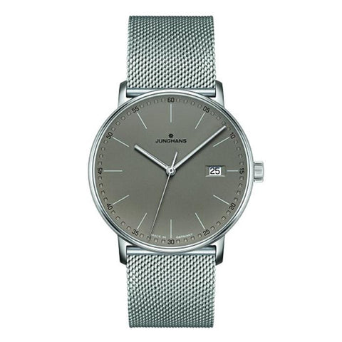 Junghans Form Quartz 40mm Quartz Matte Silver Dial Men's Watch 041/4886.44