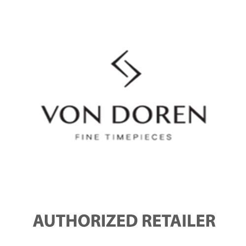 Von Doren Aksla Mark II Frost White - Gold Classic Dial Men's Watch