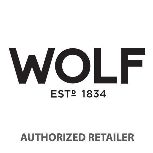 WOLF Vault Tray Lid Gray Leather Finish 434965