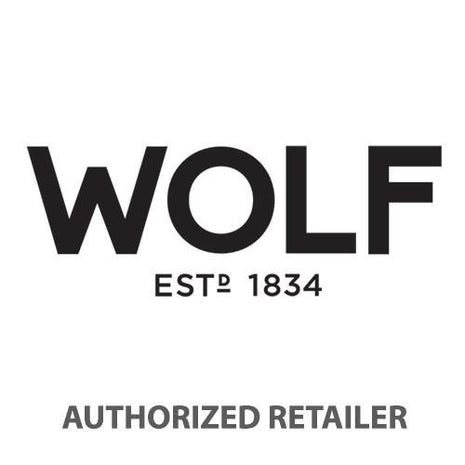 WOLF Palermo Red Safe Deposit Jewelry Box 213572