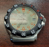Zodiac Vintage 1990s Luminous Dial Black Bezel 38mm Divers Men's Watch