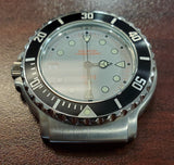 Zodiac Vintage Divers 1990s 36mm Grey Dial Black Bezel Men's Watch