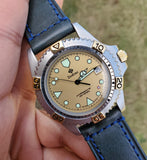Zodiac Professional Vintage Divers Champagne Dial 38mm Men's Watch