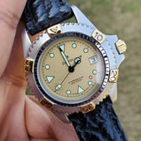 Zodiac Professional Vintage Divers Champagne Dial 35mm Unisex Watch