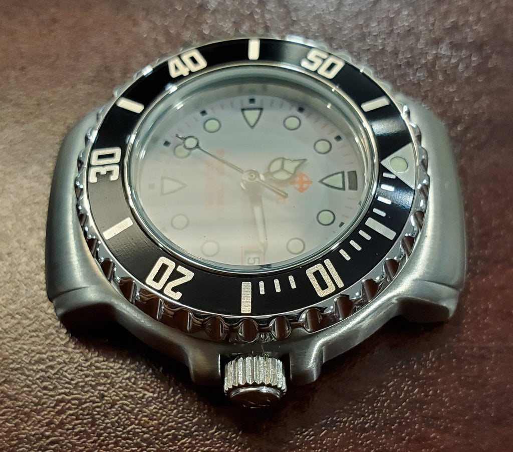 Zodiac Vintage 1990s Grey Dial Black Bezel Divers 30mm Unisex Watch