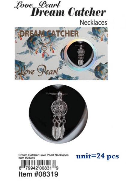 08319-LOVE PEARL DREAM CATCHER NK
