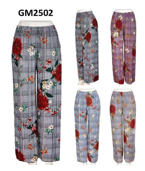 GM/P2502-PANTS(1 SIZE-4 COLORS, 12 PCS IN EACH PACKAGE)