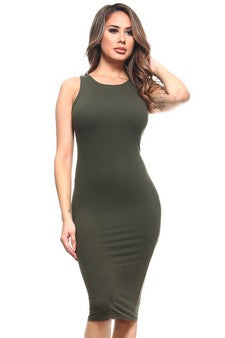 DRS004-DOL-Crew Neckline Bodycon(6 PCS IN A PACKAGE)