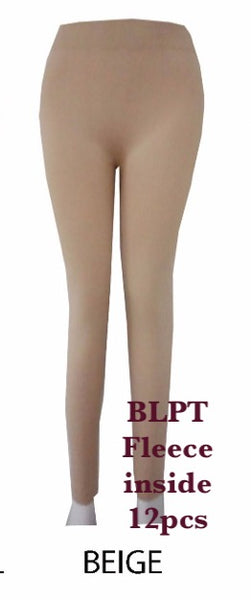 BLPT BEIGE-BRUSHED PANTS(12 PCS IN A PACKAGE)