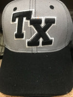 CAP-TEXAS-GREY/BLACK