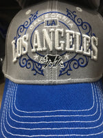 CAP-LOS ANGELES-GREY/BLUE