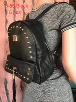 B-86 BAG-BLACK(5 PCS IN A PACKAGE)