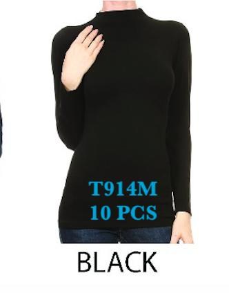 T914M BLACK(10 PCS IN A PACKAGE)