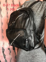 B-37 BAG-BLACK(5 PCS IN A PACKAGE)
