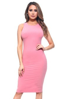 DRS004-DSR-Crew Neckline Bodycon(6 PCS IN A PACKAGE)