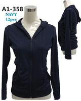 A1-358 NAVY(MIXED SIZES, 12 PCS IN A PACKAGE)