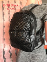 B-36 BAG-BLACK(5 PCS IN A PACKAGE)