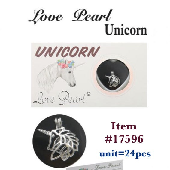 17596-LOVE PEARL UNICORN(24 PCS IN A BOX)-BOX