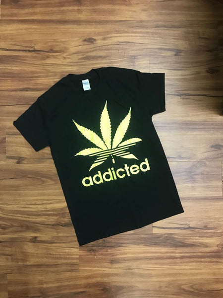 ADDICTED-FUNNY T-SHIRTS