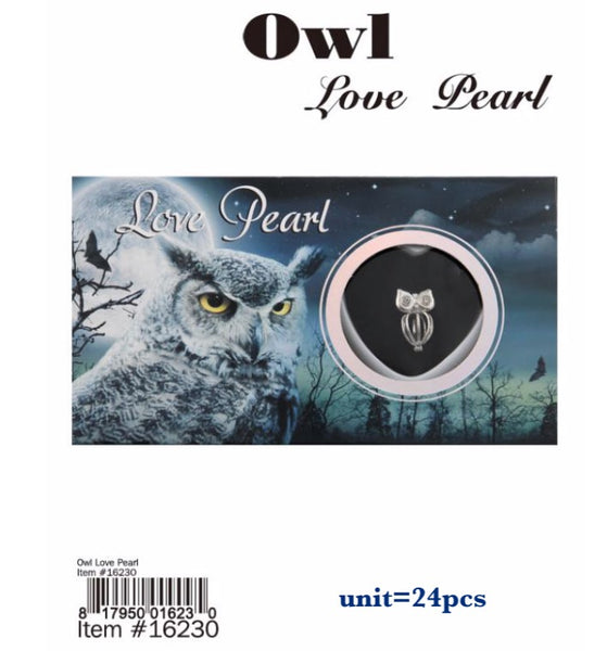16230-LOVE PEARL OWL(24 PCS IN A BOX)-BOX
