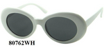 SUNGLASSES:80762 WH