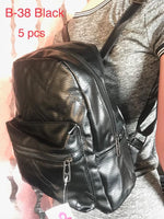 B-38 BAG-BLACK(5 PCS IN A PACKAGE)