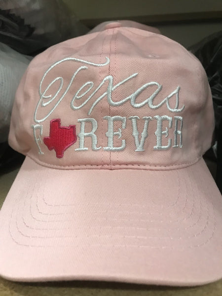 CAP-TEXAS FOREVER-PINK