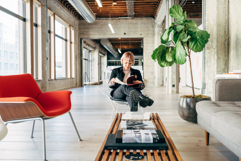 A conversation about mobile photography and VSCO app with Greg Lutze. A modern and mid century interior design at VSCO HQ. Designed by DeBartolo Architects in Oakland, San Francisco.