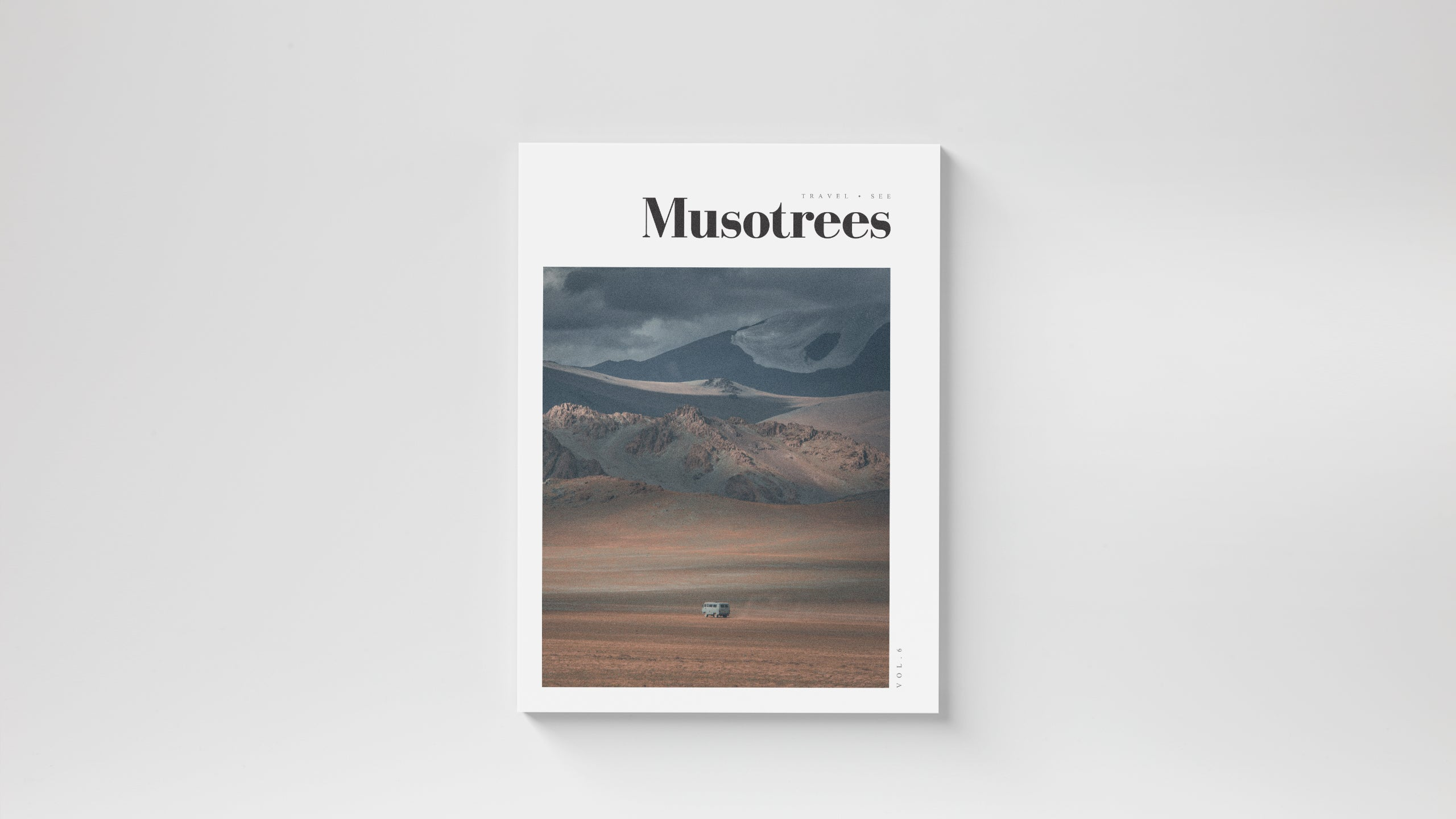 A travel magazine based in Kuala Lumpur Malaysia. Travel story from Mongolia by Max Muench Photography. Cover photo taken by Maximilian Muench, a Berlin photographer.