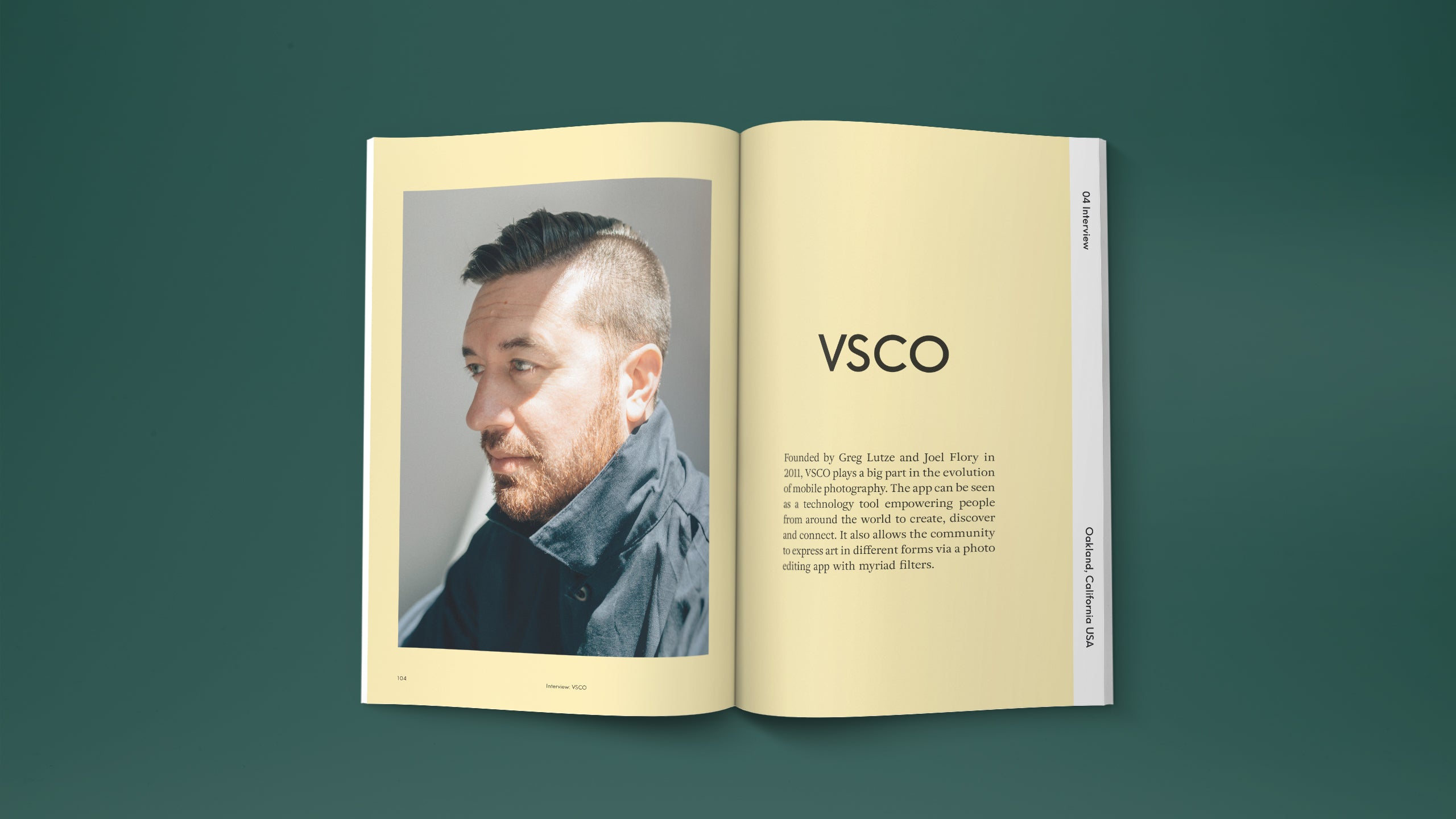 travel magazine and home lifestyle. story about minimal interior design. interview with VSCO founder greg lutze mobile photography. VSCO office in San Francisco. photography by Steven Turville