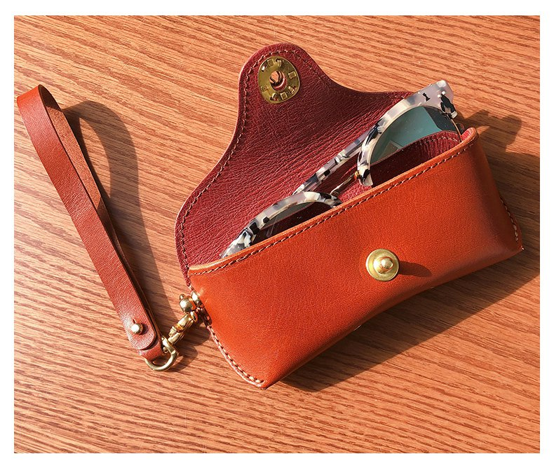 Made to Order Leather Glasses Case
