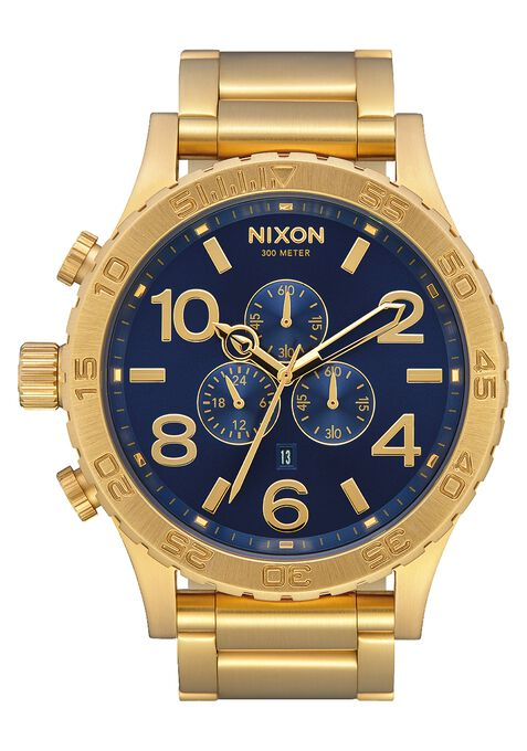 Nixon 51-30 Chrono Gold / Blue Sunray / Gold