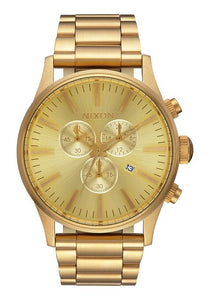Nixon Sentry Chrono All Gold