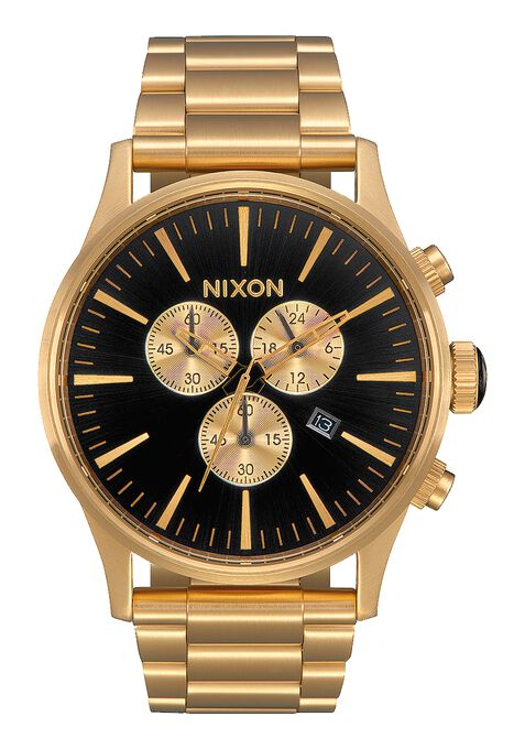 Nixon Sentry Chrono All Gold / Black