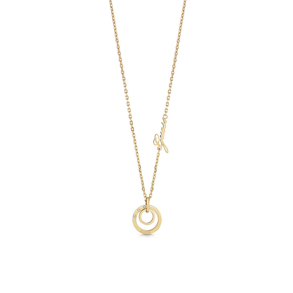 Necklace Eternal Circles Guess