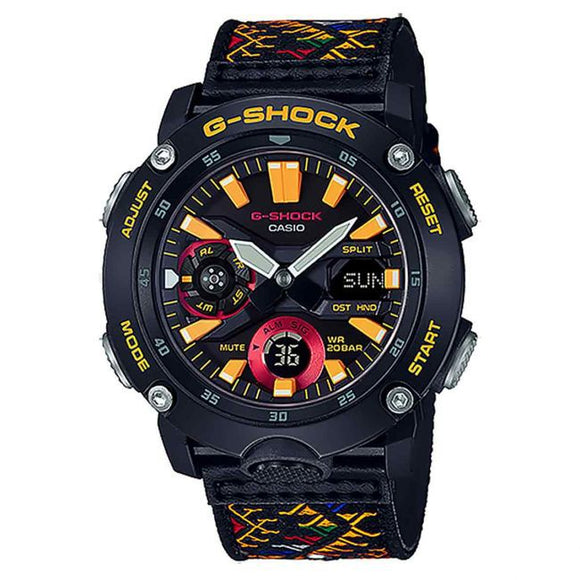 GA2000BT-1A G-SHOCK CARBON CORE LIMITED COLOUR WATCH