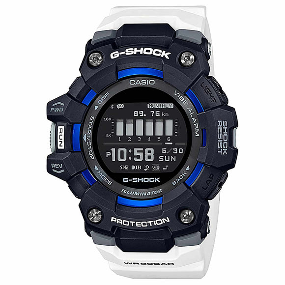 GBD100-1A7 G-Shock G-SQUAD Sports Watch