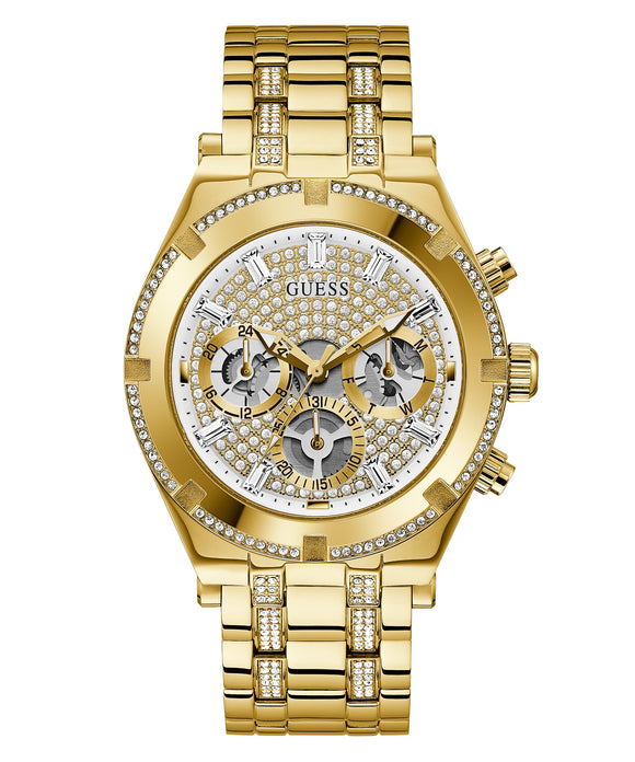 Guess GW0261G2 Continental Gold and Crystal Men's Watch