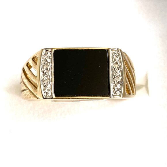9ct. Gold Men's Ring