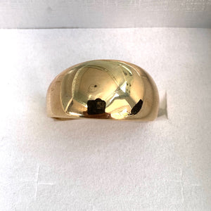 9ct. Gold Dome Ring