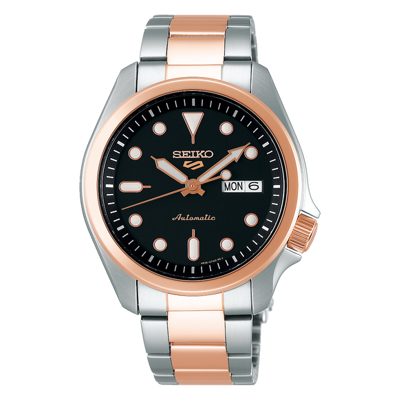 SRPE58K1 SEIKO 5 Automatic Sports Rose Watch