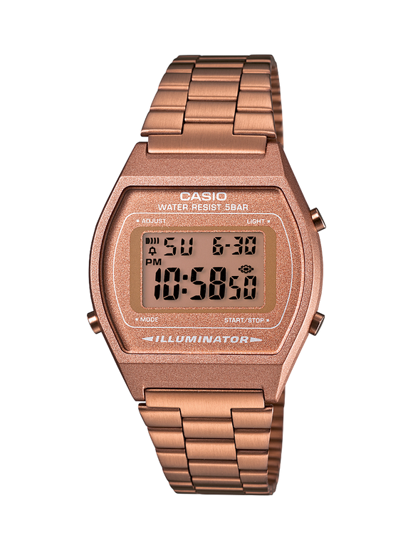 CASIO VINTAGE ROSE GOLD COLLECTION WATCH