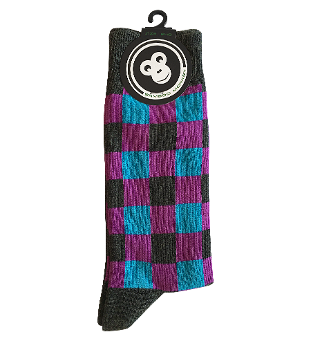 square design bamboo sock