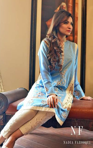NF112 - Powder Blue Kurta