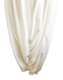 MU0120 - Beautiful Pearl Cream Tulip Pants